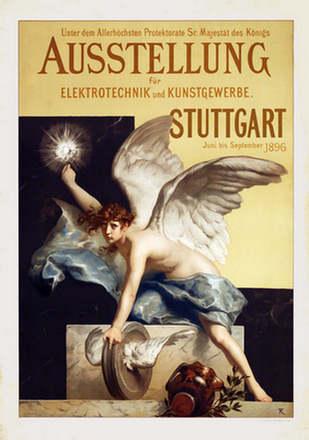 Monogramm FK - Ausstellung Elektrotechnik