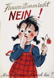 Laubi Hugo - Frauenstimmrecht Nein
