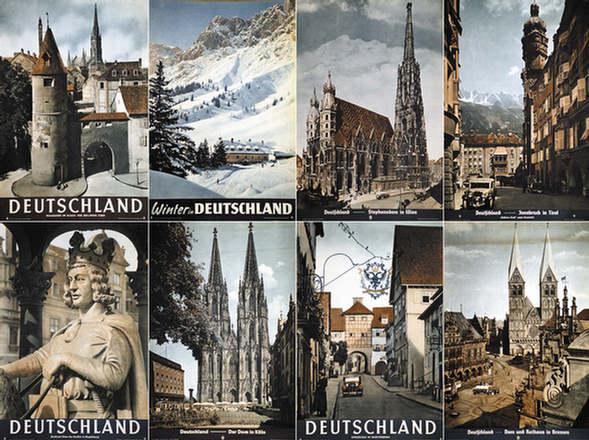 Diverse Photographen - Deutschland (8 Motive)
