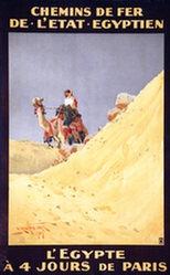 Lamplough Augustus Osborne - Chemins de Fer de l'etat Egyptien