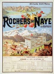 Anonym - Rochers de Naye sur Montreux