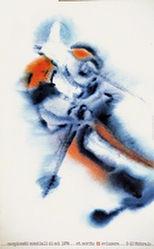 Bachmann Eugen - Campionati mondiali di sci