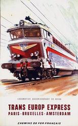 Brenet Albert - SNCF - Trans Europe Express