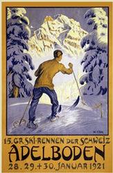 Fink Waldemar Theophil - 15. Gr. Ski-Rennen der Schweiz