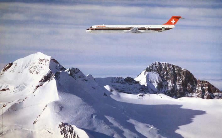 Maeder Herbert (Photo) - ohne Worte (Swissair)