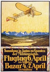 Steiner Hans Adolf - Flugtag im Schachen