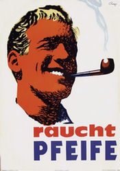 Campbell Marcus - Raucht Pfeife