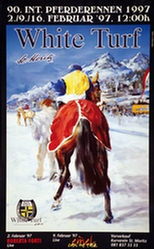 Furger Gian Reto - White Turf - St.Moritz