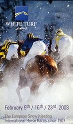 Anonym - White Turf - St.Moritz