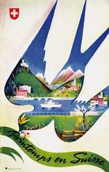 Barberis Franco - Printemps en Suisse