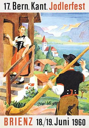 Huber Ernst - 17. Bern. Kant. Jodlerfest Brienz