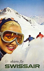 Bittel René - Skiers fly Swissair