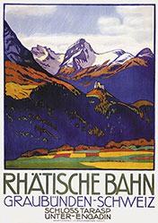 Cardinaux Emil - Rhätische Bahn - Graubünden