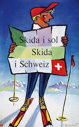 Monnerat Pierre - Skida i sol - Skida i Schweiz