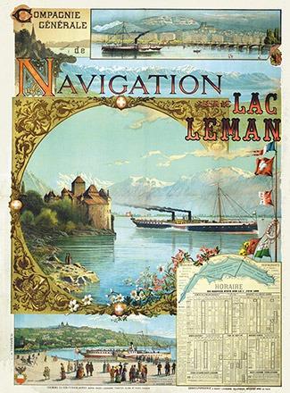 Blatter Vincent - Compagnie générale de navigation sur le lac Léman