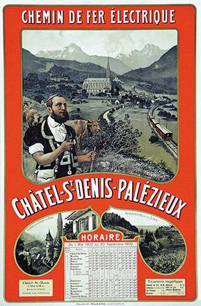 Anonym - Châtel St-Denis-Palezieux