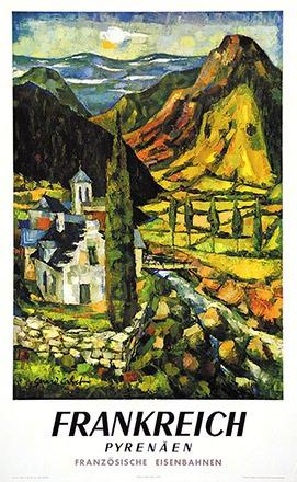 Cabet Gérard - Frankreich - Pyrenäen