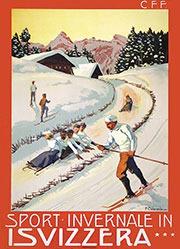Colombi Plinio - Sport invernale in Svizzera