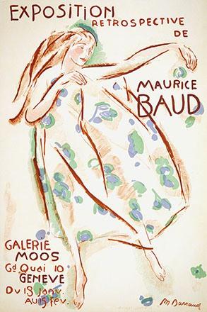 Barraud Maurice - Retrospective de Maurice Baud