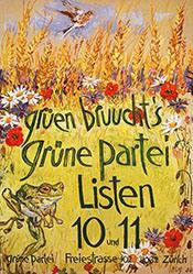 Hug Fritz - Grüne Partei