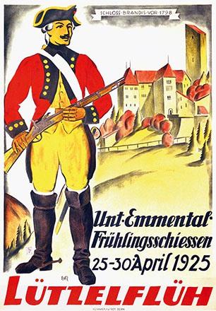 Monogramm EHR - Frühlingsschiessen Lützelflüh