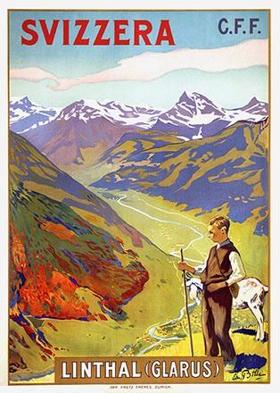 Bille Edmond - Svizzera - Linthal (Glarus)