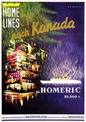 Zadice - Home Lines nach Kanada