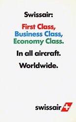 GGK Werbeagentur - Swissair