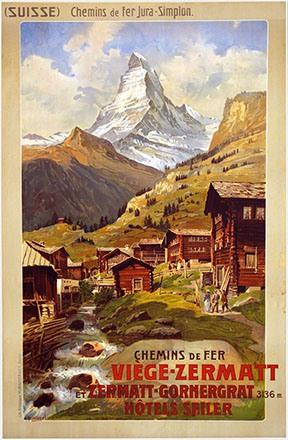 Reckziegel Anton - Chemin de Fer Viège-Zermatt