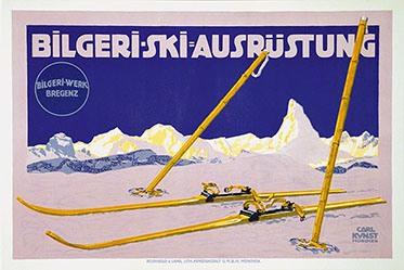 Kunst Carl - Bilgeri - Ski-Ausrüstung