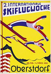 Huber Willy - Internationale Skiflugwoche