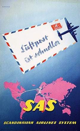 Hinnerud Tor - SAS - Scandinavian Airlines System
