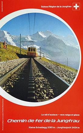 Anonym - Chemin de fer de la Jungfrau