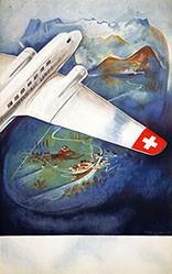 Häfelfinger Eugen - ohne Text (Swissair)