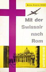 Ott Henri - Mit der Swissair nach Rom