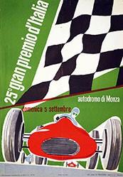 Huber Max - 25e gran premio d'Italia