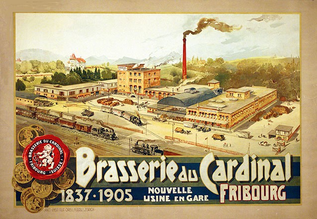 Anonym - Brasserie du Cardinal Fribourg