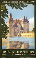 Duval Constant Léon - Château de Sully sur Loire