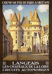 Duval Constant Léon - Langeais - Les Châteaux de la Loire