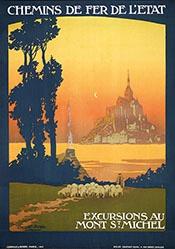 Duval Constant Léon - Excursions au Mont St. Michel