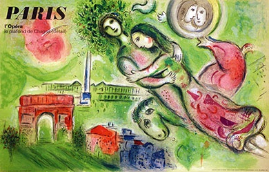 Chagall Marc - Paris