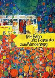 Wetli Hugo - Mit Bahn und Post