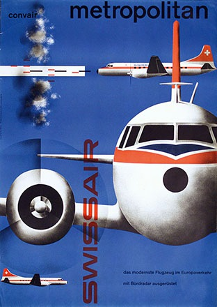Wirth Kurt - Swissair