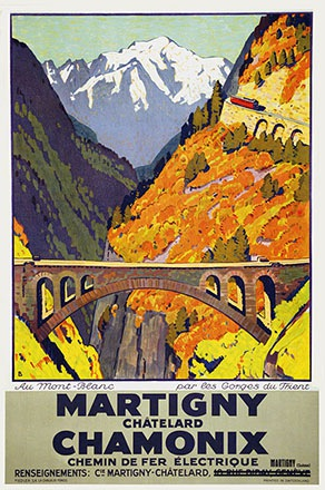 Baumberger Otto - Martigny Châtelard Chamonix