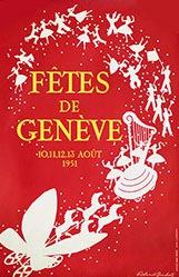 Beuchat Roland - Fêtes de Genève