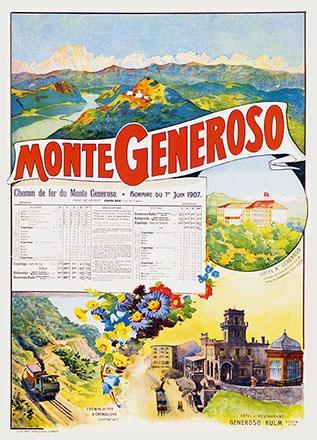 Anonym - Chemin de fer du Monte Generoso