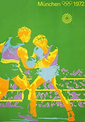 Aicher, Joksch, Wirthner, Nagy - Olympische Spiele