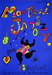 de Saint Phalle Niki - Jazz Festival