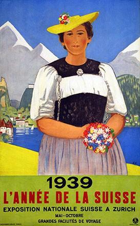 Cardinaux Emil - 1939 - L'année de la Suisse