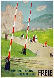 Morgenthaler Ernst - Mit der Bahn hinaus ins Freie